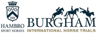 Burgham International Horse Trials Logo